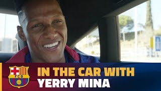 Download Video Yerry Mina's chat in the car on his way to the Camp Nou! MP3 3GP MP4
