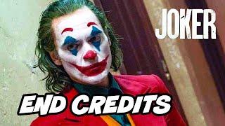 Joker Ending Scene and End Credit Scene Breakdown