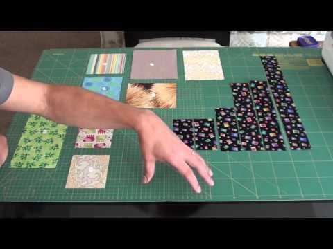 patchwork - blocco labirinto mosaico