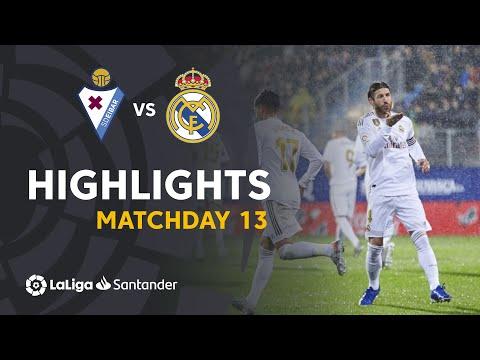 Highlights SD Eibar vs Real Madrid (0-4)
