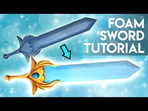 Eva Foam Cosplay Sword Tutorial (She-Ra)