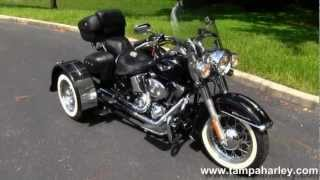 8. Used 2006 Harley-Davidson FLSTN Softail Deluxe with Insta-Trike for sale.