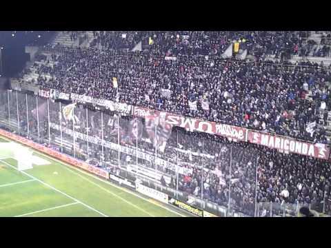 """salernitana - foggia 2-2 coro fortissimo """"state tutti attenti che"""""""