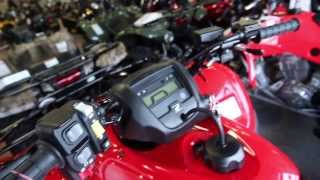 8. 2013 Honda Fourtrax Rancher 4X4 ES