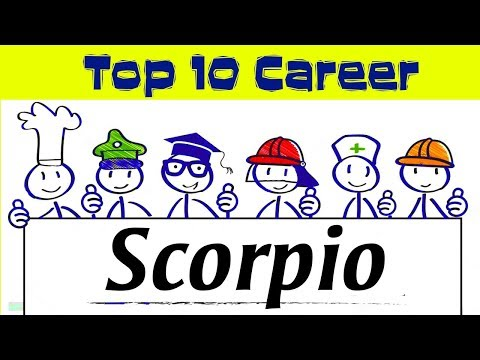 Top 10 Careers for Scorpio | 23 October – 21 November