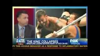 Michael Cole Discusses Jerry Lawler's Heart Attack on Fox & Friends