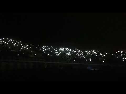 Sucios dirigentes 🎶 Los Panzers cantando sin luz en el estadio - Los Panzers - Santiago Wanderers