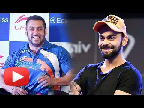 Virat Kohli REACTS On Salman Khan As The Rio Olymp