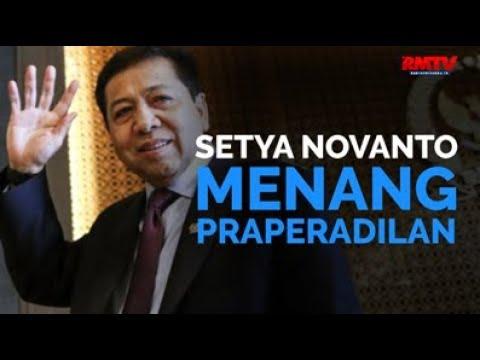 Setya Novanto Menang Praperadilan