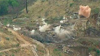 Robledo De Chavela Spain  city pictures gallery : La demolición de la presa de Robledo de Chavela