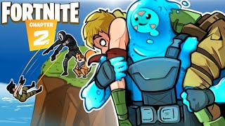 H2O DELIRIOUS DISCOVERS A NEW WORLD! FORTNITE 2 NEW MAP! (Funny Moments)