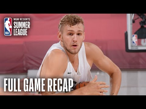 Video: CHINA vs BUCKS | Jack Landale Scores Game-High 23 Points | MGM Resorts NBA Summer League
