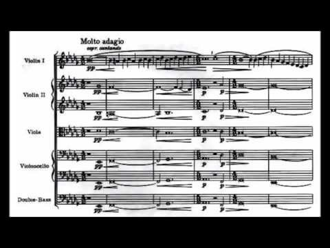 Samuel Barber - Adagio For Strings (audio + Sheet Music)