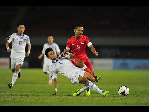 football - 27th SEA Games Myanmar 2013 (Football) - Singapore vs Laos Full time score: Singapore (Sahil Suhaimi, 27'), Laos (Khuanta Sivongthong, 86')