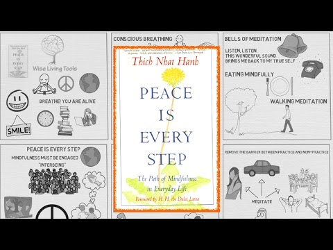 Peace Is Every Step by Thich Nhat Hanh - Animated Book Review