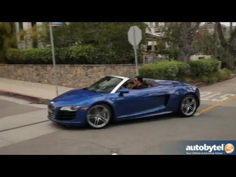 2012 Audi R8 V10 Spyder Test Drive & Car Review