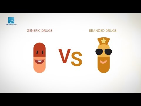 Generic Vs Branded Drugs