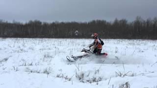 4. Première ride dans 3 pieds de neige de l'année (2016-01-30)