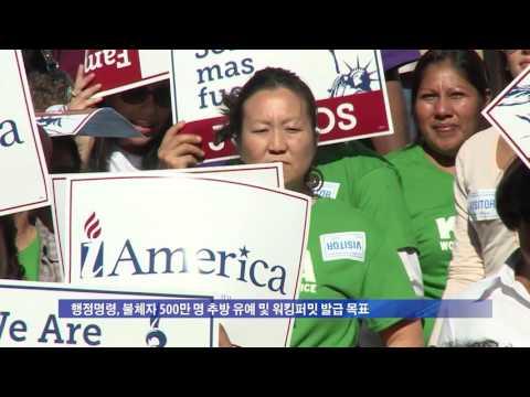 추방유예 확대 행정명령 끝내 무산  6.23.16 KBS America News