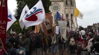 Chartres France  city photo : Pèlerinage de Chartres - Notre-Dame de Chrétienté. Chartres/France - 16 mai 2016