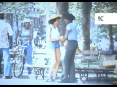 1976 New York, Greenwich Village, Park, Super 8 Home Movies