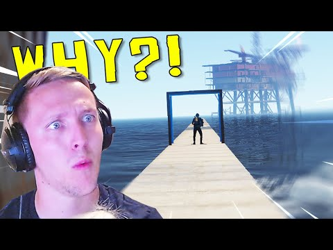 Rust but we built a bridge to OIL (literally over the water lol)...