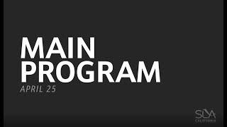 SLA Committee Day 2018: Main Program