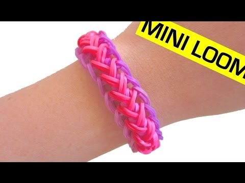How to Make a Mermaid Braid Rainbow Loom Bracelet with Mini Loom
