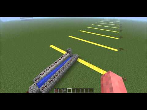 Minecraft - The perfect TNT cannon (IMPROVED!)