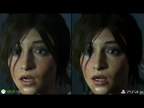 Xbox One X vs PS4 Pro First Look Graphics Comparison!  de Rise of the Tomb Raider