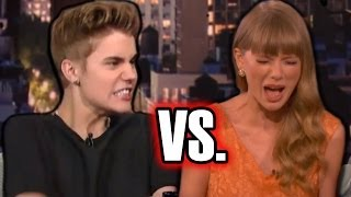 Taylor Swift vs. Justin Bieber: BASHING Eachother in New Songs?!
