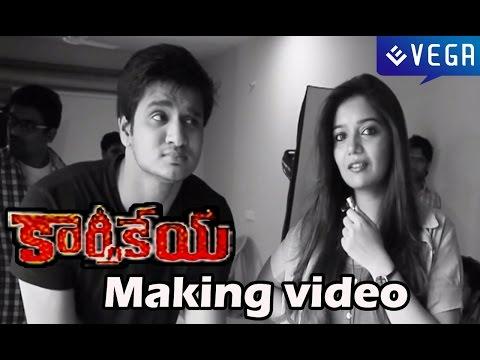 Karthikeya Movie Making Video - Nikhil Siddhartha, Swati Reddy
