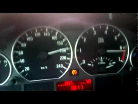 BMW E46 323i 0-200 Km/h