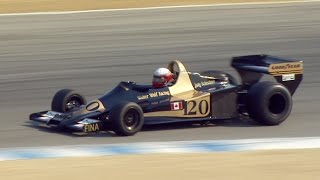 1967 - 1984 Formula One Cars - Rolex Monterey Motorsports Reunion by Motor Trend