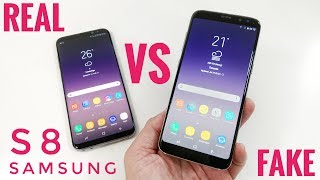 In this video i want to show you how to spot a Fake Samsung Galaxy S8.I hope that i will be able to show you enough tips so you don't end up buying a fake phone thinking that it is the original Samsung S8This phone is called the HDC Space S8 Pro: http://bit.ly/2sRYnaQ Get the original Samsung Galaxy S8 ON Amazon: http://geni.us/3ZeNo6V Fake devices don't offer any performance, no quality control, no warranty and they are nowhere close to the performance that you would get from an original Samsung S8 Smartphone. Clones are not recommended.Feel free to ask any questions that could help you making sure that you purchase an original Samsung S8 and not a replica.It is always a good idea to buy phones from an authorized Samsung retailer!