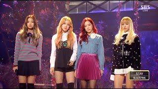 Video BLACKPINK - 'STAY' 1106 SBS Inkigayo MP3, 3GP, MP4, WEBM, AVI, FLV Maret 2019