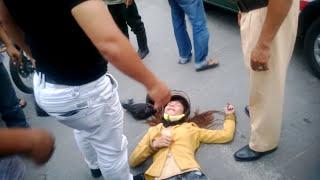 Hot Girl bị đánh giữa đường