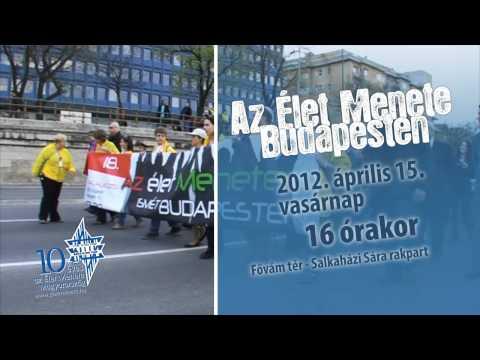 10 éves Az Élet Menete Budapesten – 2012. április 15.