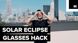 With the solar eclipse right around the corner, it's important to make sure you're planning to watch it safely. READ MORE: http://mashable.com/FACEBOOK: https://www.facebook.com/mashable/TWITTER: https://twitter.com/mashableINSTAGRAM: https://www.instagram.com/mashable/