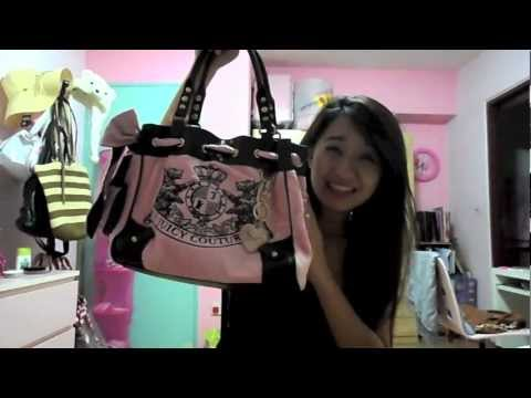 What's in my Purse? (Updated) JUICY COUTURE