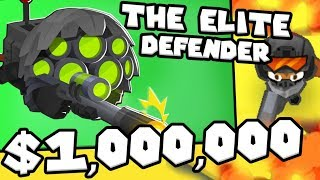 Bloons TD 6 - The Elite Defender - Tier 5 Sniper Monkey | JeromeASF