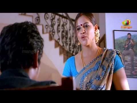 Jeeva Looking At An Aunty Simham Puli Movie Scenes Santhanam Divya Spandana Honey Rose