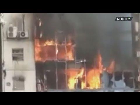 Μπανγκλαντές: Τουλάχιστον 17 νεκροί από την πυρκαγιά σε πολυώροφο κτίριο γραφείων στην Ντάκα