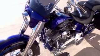 4. 2011 Harley Davidson CVO Softail Convertible FLSTSE