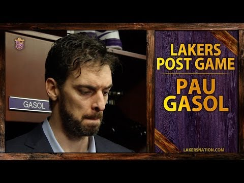 Video: Lakers vs. Clippers: Pau Gasol Asked Whether He's Questioned Management's Decisions