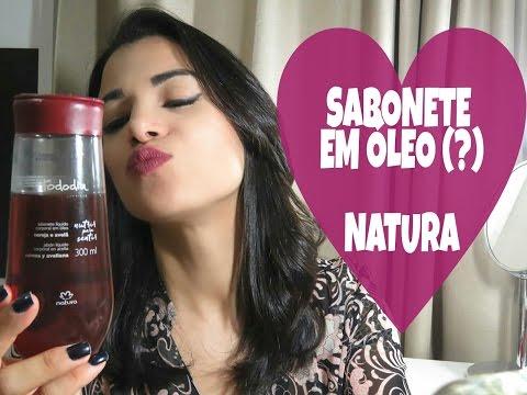 Pele hidratada e sensual com o Sabonete em Óleo Cereja e Avelã Natura - Resenha | Beleza da Gente