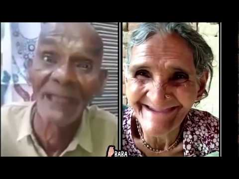 Funny Old Man And Women Singing Hindi Song