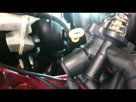 Thermostat replacement 2005 – 2011 Ford Focus 2.0L assembly Install Remove Replace