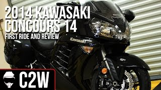 2. 2014 Kawasaki Concours 14 - First Ride and Review