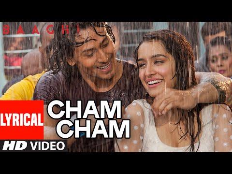 Cham Cham LYRICAL Video | BAAGHI | Tiger Shroff, S